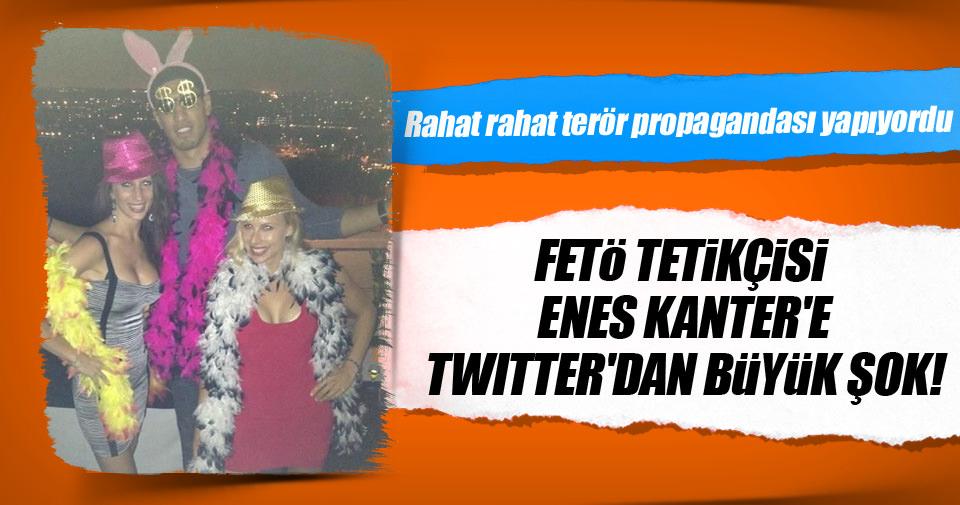 FETÖ tetikçisi Enes Kanter'e Twitter şoku!