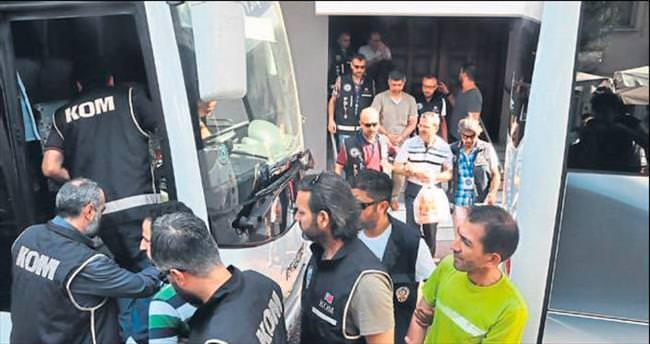 FETÖ/PDY zanlısı 20 kişi tutuklandı