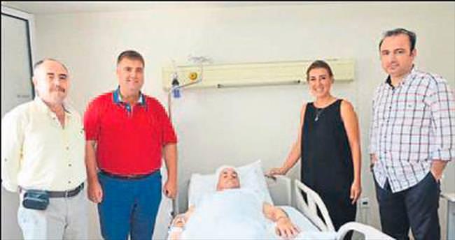 Tepecik Bornova'da ilk ameliyat yapıldı