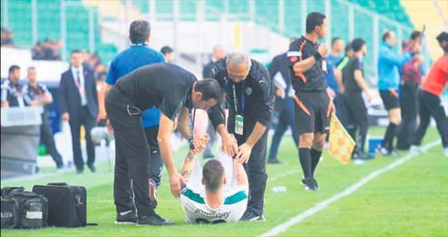 Bursaspor'da sakatlıklar can sıkıyor