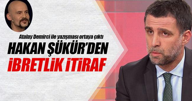 Hakan Şükür'den ibretlik itiraf!