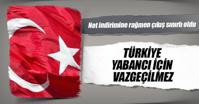 Türkiye yabancı için vazgeçilmez