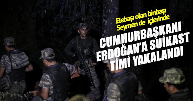 Cumhurbaşkanı Erdoğan'a suikast timi Ula ilçesinde yakalandı