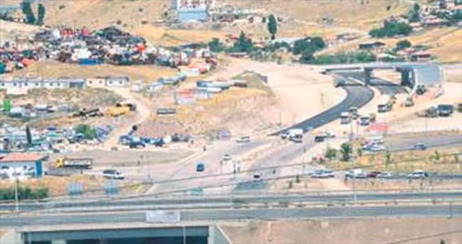 Hurdacılar Kavşağı Köprüsü tamamlandı