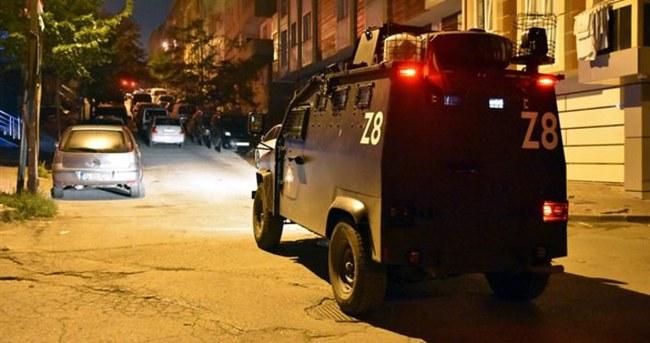 Gazi Mahallesi'nde terör operasyonu