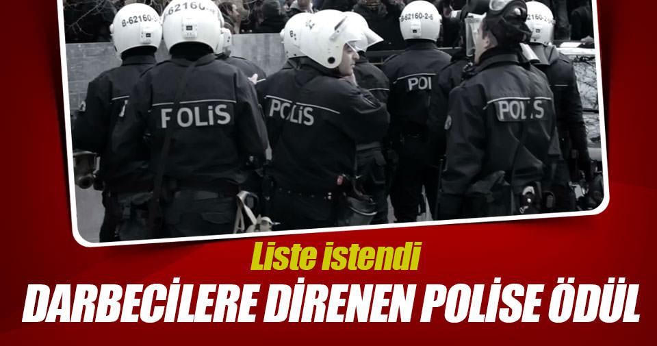 Darbecilere direnen polis ödüllendirilecek