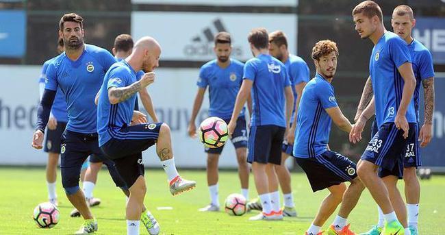 Fenerbahçe Monaco maçı taktiğini çalıştı