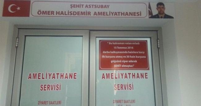 Ömer Halisdemir'in adı Bursa'da yaşayacak