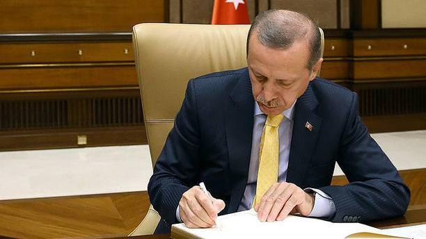 Cumhurbaşkanı Erdoğan,6732 sayılı kanunu onayladı