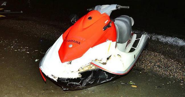 Trabzon'da jet skiler çarpıştı: 2 yaralı