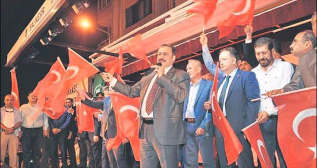Bakan Eroğlu'ndan şehit babasına söz