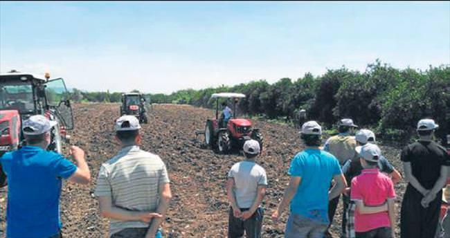 40 bin çiftçinin tarlasına bereket