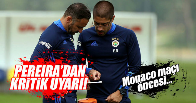 Pereira: Braga maçını aklınıza getirin