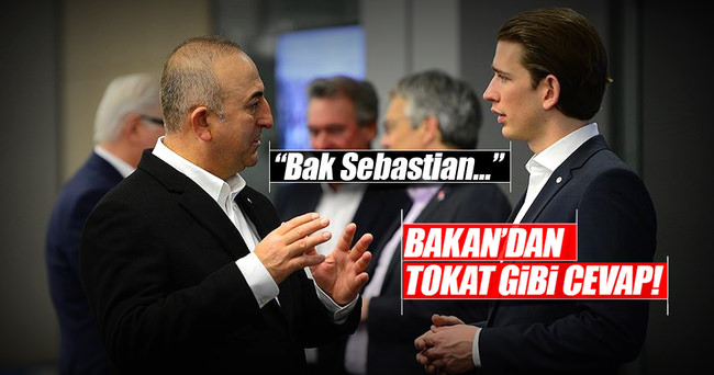 Çavuşoğlu'ndan Avusturyalı mevkidaşına ifade özgürlüğü dersi