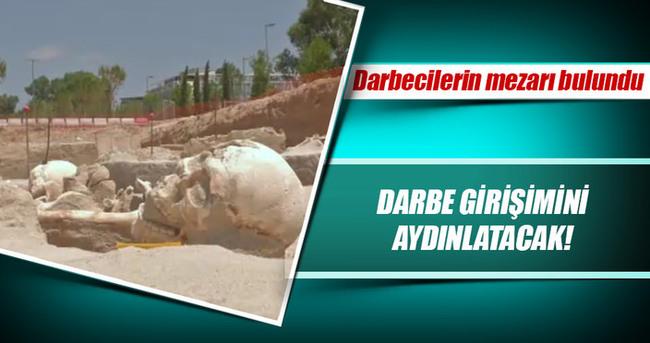 Darbecilerin mezarı bulundu