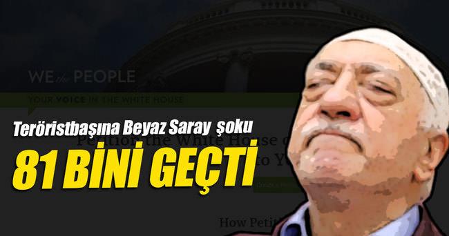 'Gülen'in iadesi' kampanyasında sayı 81 bini geçti