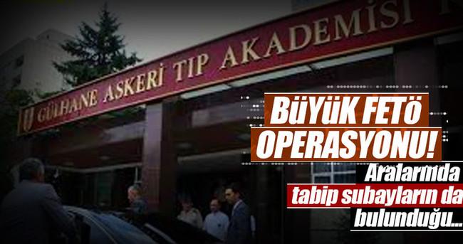 Ankara GATA'da operasyon!