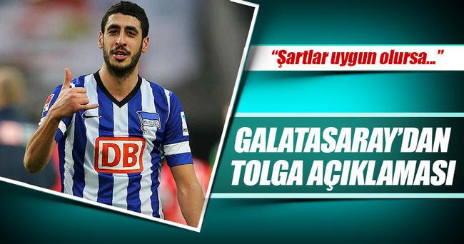 Galatasaray'dan Tolga Ciğerci açıklaması!