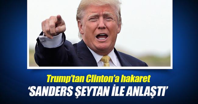 Trump'tan Clinton'a hakaret