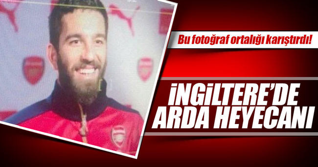 Arda Turan'ın 'photoshopla' Arsenal'a transfer ettiler