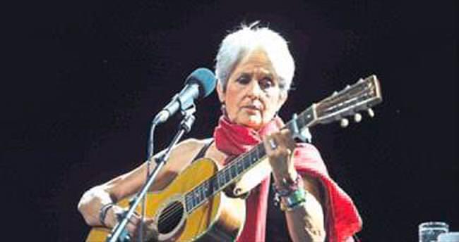 Joan Baez, İzmir'de sahneye çıkacak