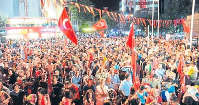 Akdoğan: Türklüğün ne demek olduğunu gördüler