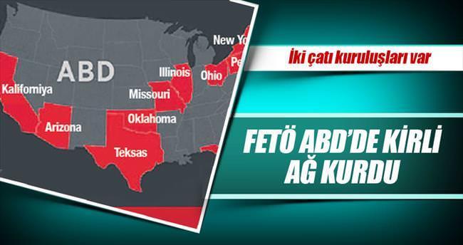 İşte ABD'deki FETÖ ağı