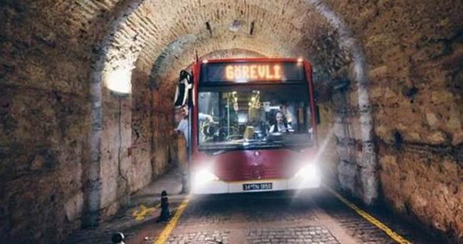 Beylerbeyi Sarayı Tüneli trafiğe açılıyor