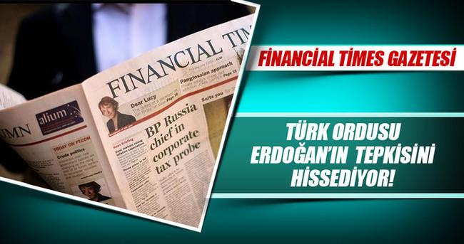 TSK Erdoğan'ın tepkisini hissediyor