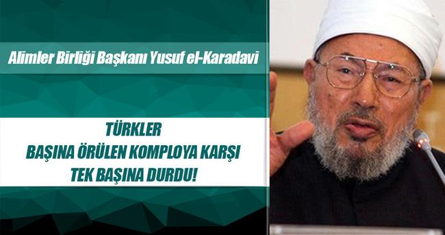 Karadavi'den Türkiye'ye 'komplo' övgüsü