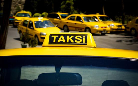 Müşteri olarak bindiği taksiyi çaldı