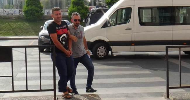 Davutoğlu'na yaklaşıp ölümle tehdit eden şüpheli adliyeye getirildi