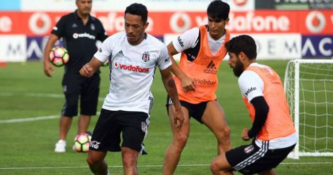 Beşiktaş'ta çalışmalar devam ediyor