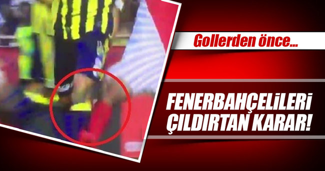 Fenerbahçe'nin yediği iki gol için büyük itiraz!