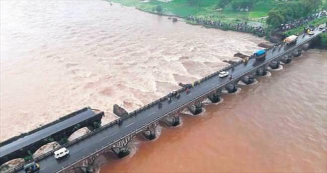 Musona köprü dayanmadı