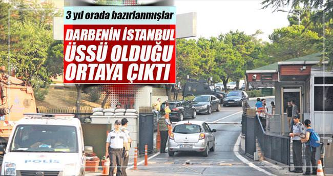 Darbenin İstanbul üssü 1. Ordu Harekât Merkezi