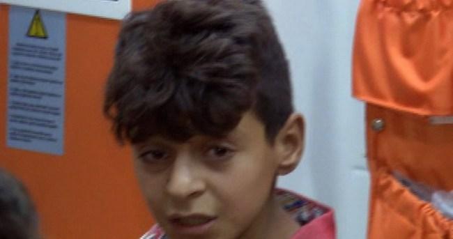 Suriyeli çocuk kaldırımda elleri ve gözleri bağlı halde bulundu