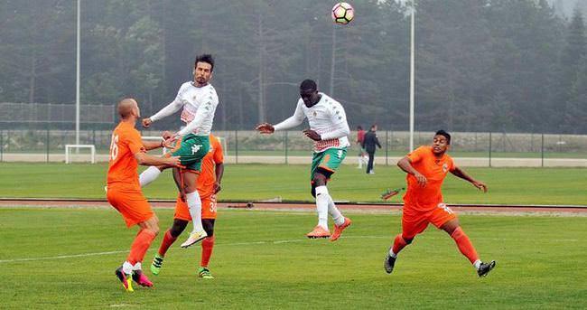 Topuk Yaylası'nda gol düellosu