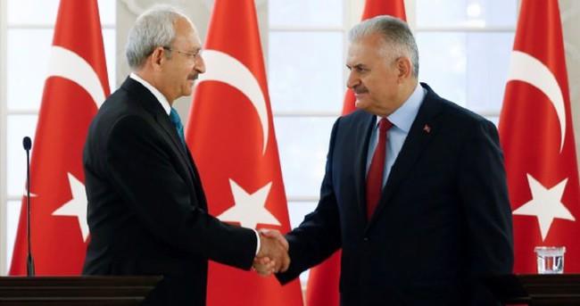 Başbakan'dan Kılıçdaroğlu'na Yenikapı telefonu