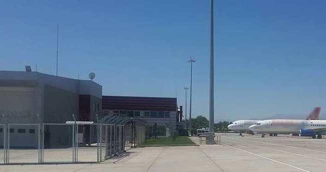 Erhaç Havalimanı ulaşıma açıldı