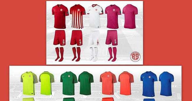 İşte Antalyaspor'un yeni sezon formaları