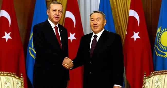Kazakistan Cumhurbaşkanı Nazarbayev Türkiye'yi ziyaret edecek