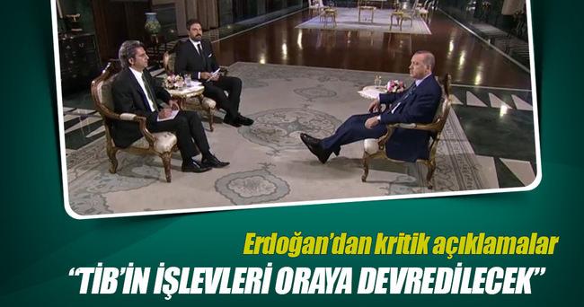 Erdoğan: TİB'in işlevleri BTK'ya verilecek