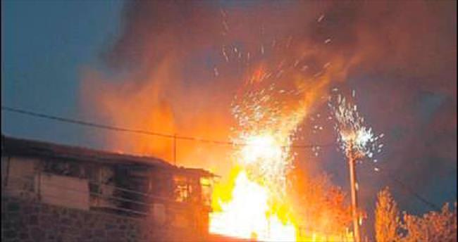 Eve sıçrayan yangın faciaya yol açıyordu