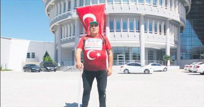 Milli irade için Ankara'ya yürüyor