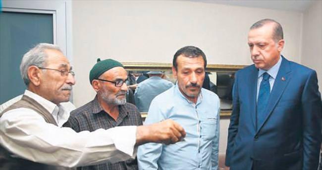 Şehit Oğuzhan'ın ailesine ziyaret
