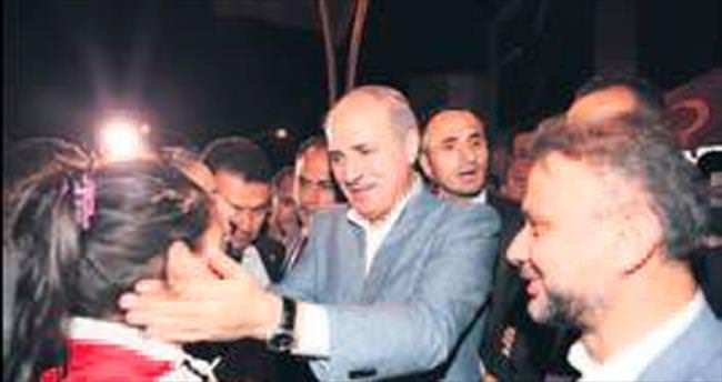 Kurtulmuş, Kazan'da vatandaşa hitap etti