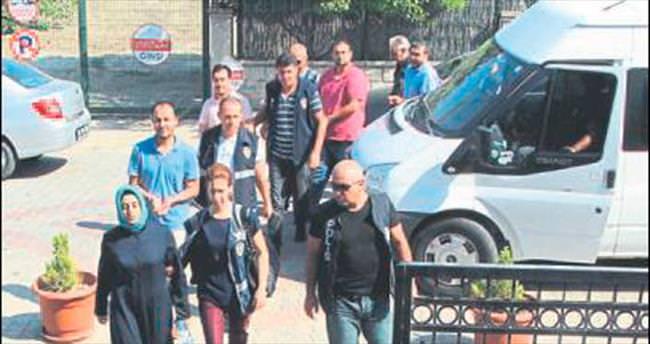 Fethiye'de 5 kişi cezaevine gönderildi
