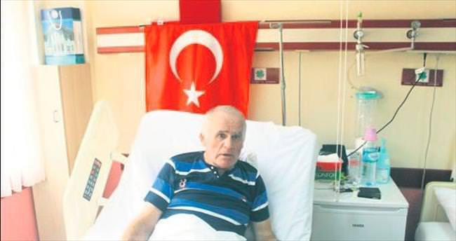 Erdoğan'ın okul arkadaşı da gazi