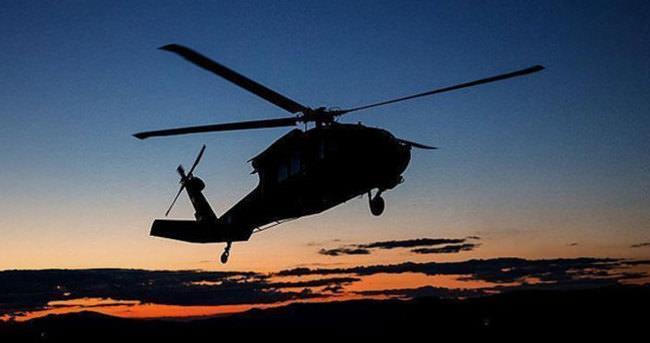 Pakistan helikopteri Afganistan'da düştü